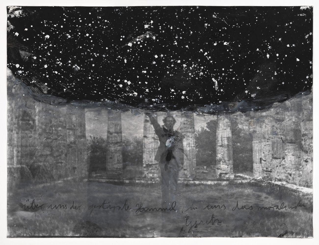 Anselm Kiefer, Über uns der gestirnte Himmel, in uns das moralische Gesetz, 1969–2010. Tate & National Galleries of Scotland © Anselm Kiefer