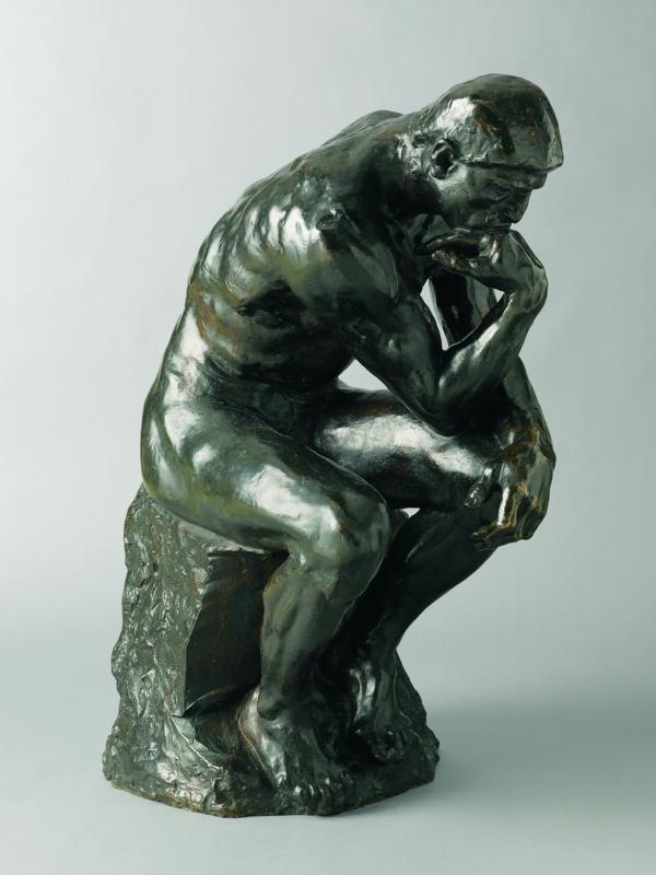 Auguste Rodin, Il pensatore, 1880 1896, MAH Musée d'Art et d'histoire, Ville de Genève, Photo Flora Bevilacqua