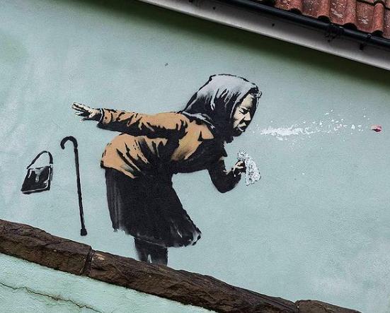Banksy a Bristol