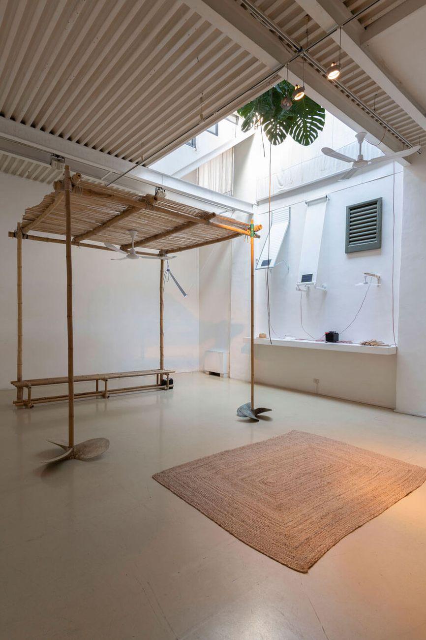 Bruna Esposito, Altri Venti - Ostro, 2020. Studio Stefania Miscetti, Roma 2020. Photo Giorgio Benni