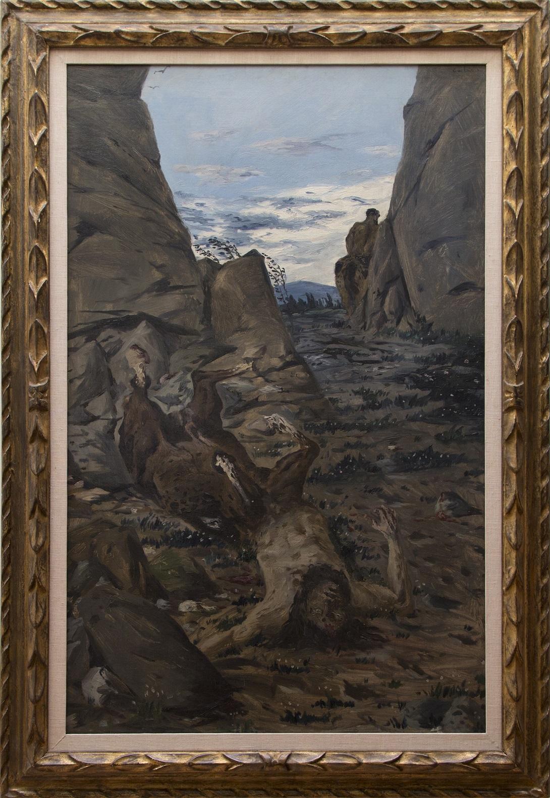 Centauro Morente di Giorgio de Chirico, in prestito alla Kunstalle di Amburgo