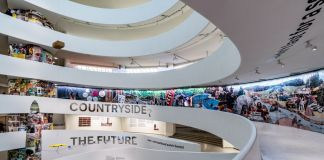 Countryside, The Future. Installation view at Solomon R. Guggenheim Museum, New York 2020. Photo David Heald © Solomon R. Guggenheim Foundation