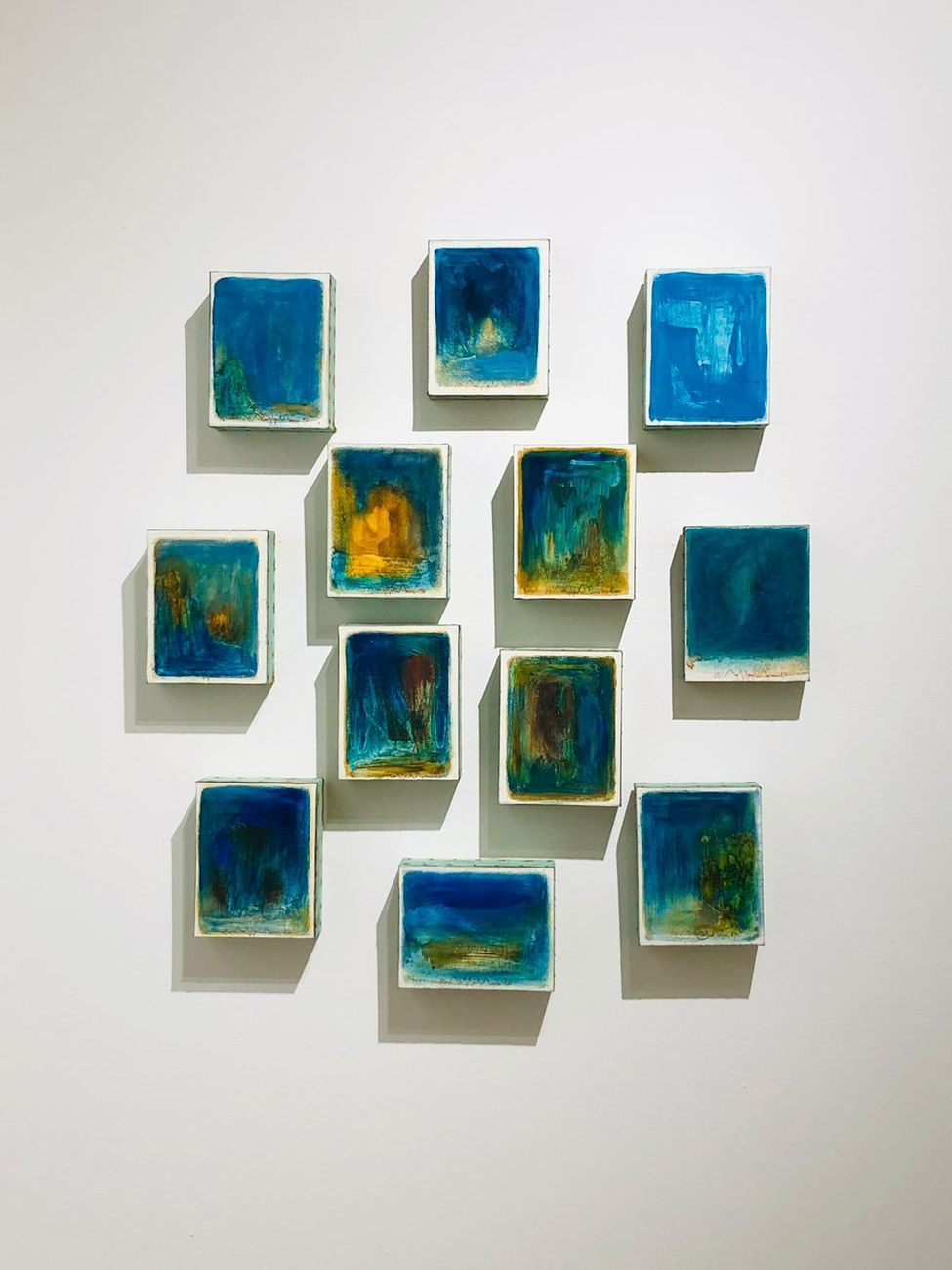 Elogio della leggerezza. Exibition view at Kyro Art Gallery, Pietrasanta 2020