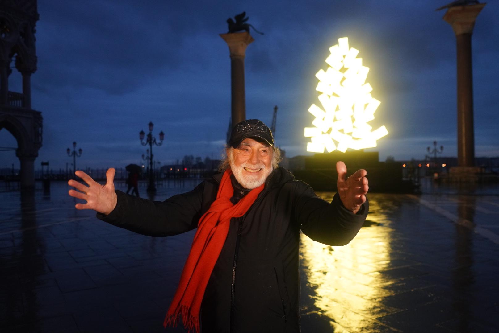 Fabrizio Plessi, Natale Digitale a Venezia