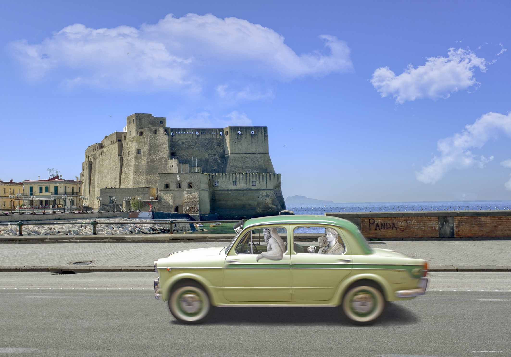 Fuga dal Museo, Allegra famiglia, MANN Napoli