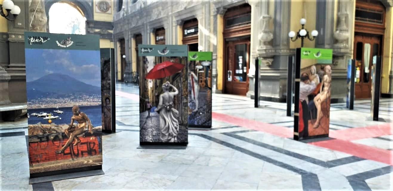 Fuga dal museo le opere sotto Galleria Principe di Napoli MANN
