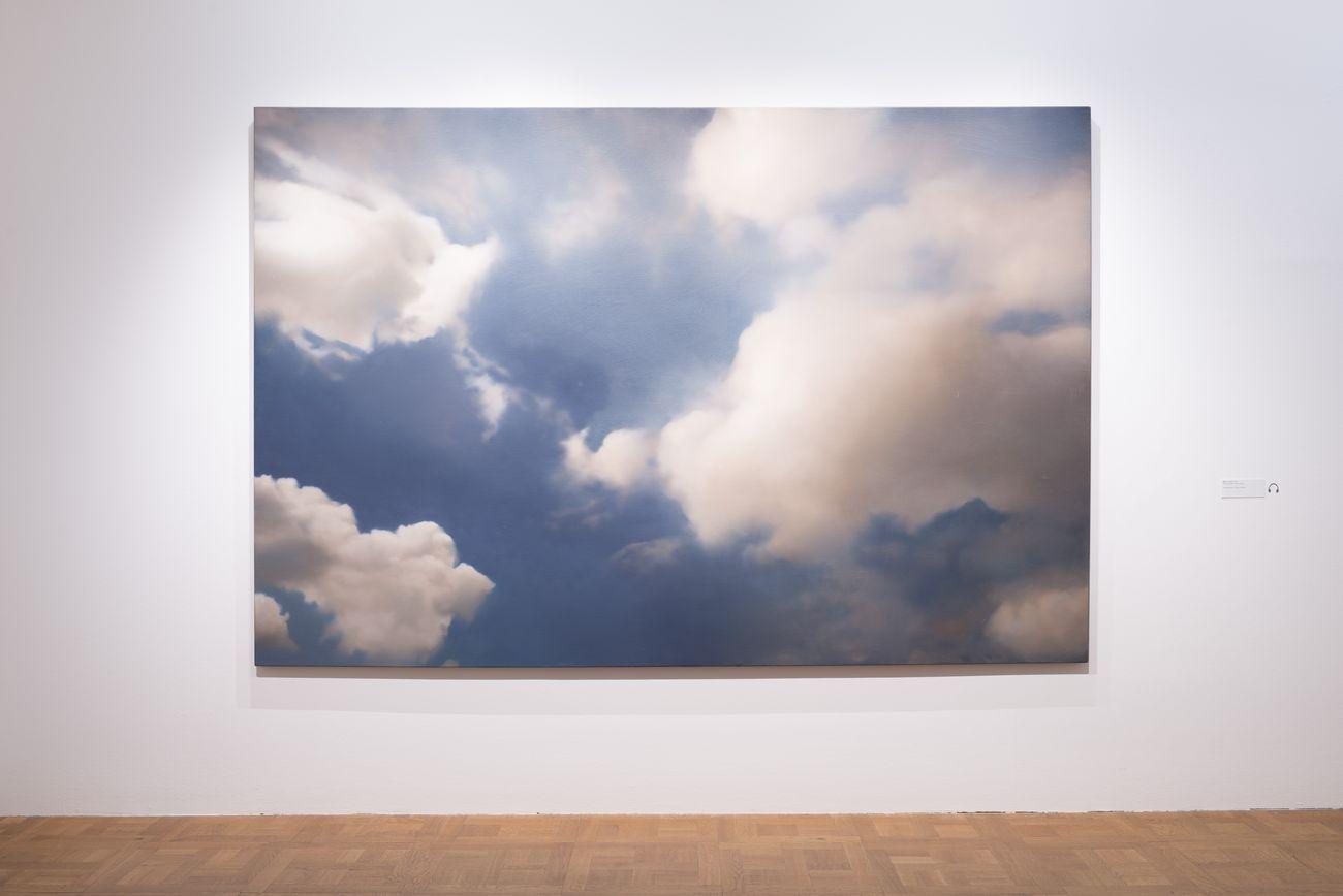 Gerhard Richter. Landschaft. Exhibition view at Kunstforum, Vienna 2020. Photo © Hannes Boeck
