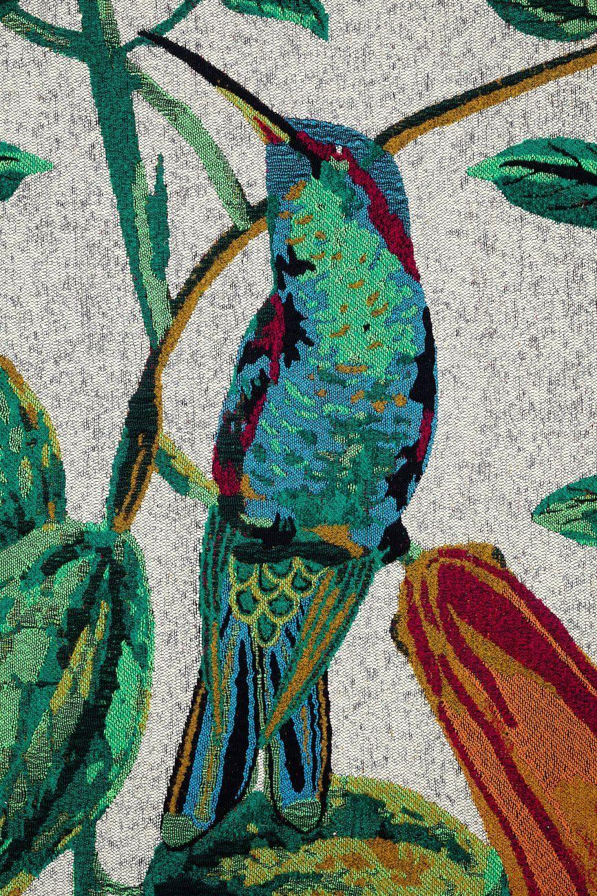 Giovanni Bonotto, Magic Garden, 2018, dettaglio, Recycled Plastic and Natural Yarn, Studiolo. Photo Filippo Armellin