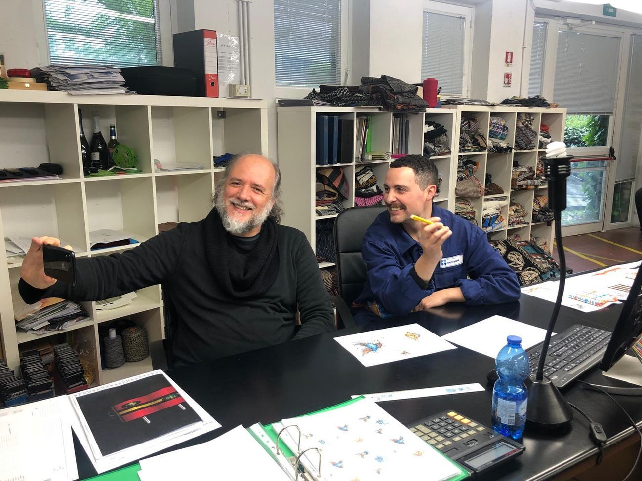 Giovanni Bonotto e Giuseppe Abate