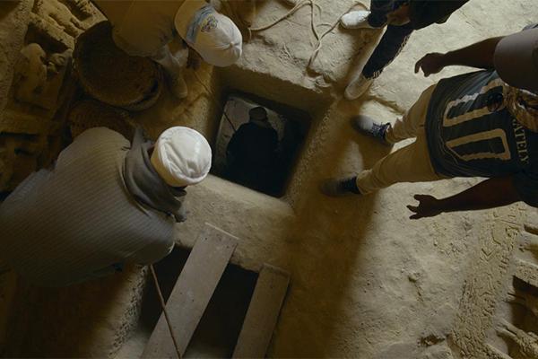 I segreti della tomba di Saqqara, Netflix