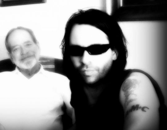 Ian Ottaway. Photo with Father taken by Calamity Cate