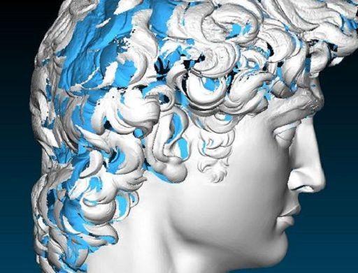 Il David di Michelangelo digitalizzato