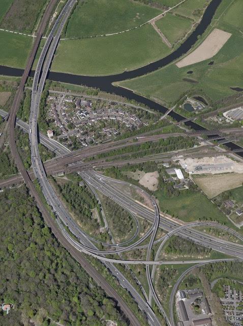 Image Kreuz Kaiserberg, Aerial view RVR