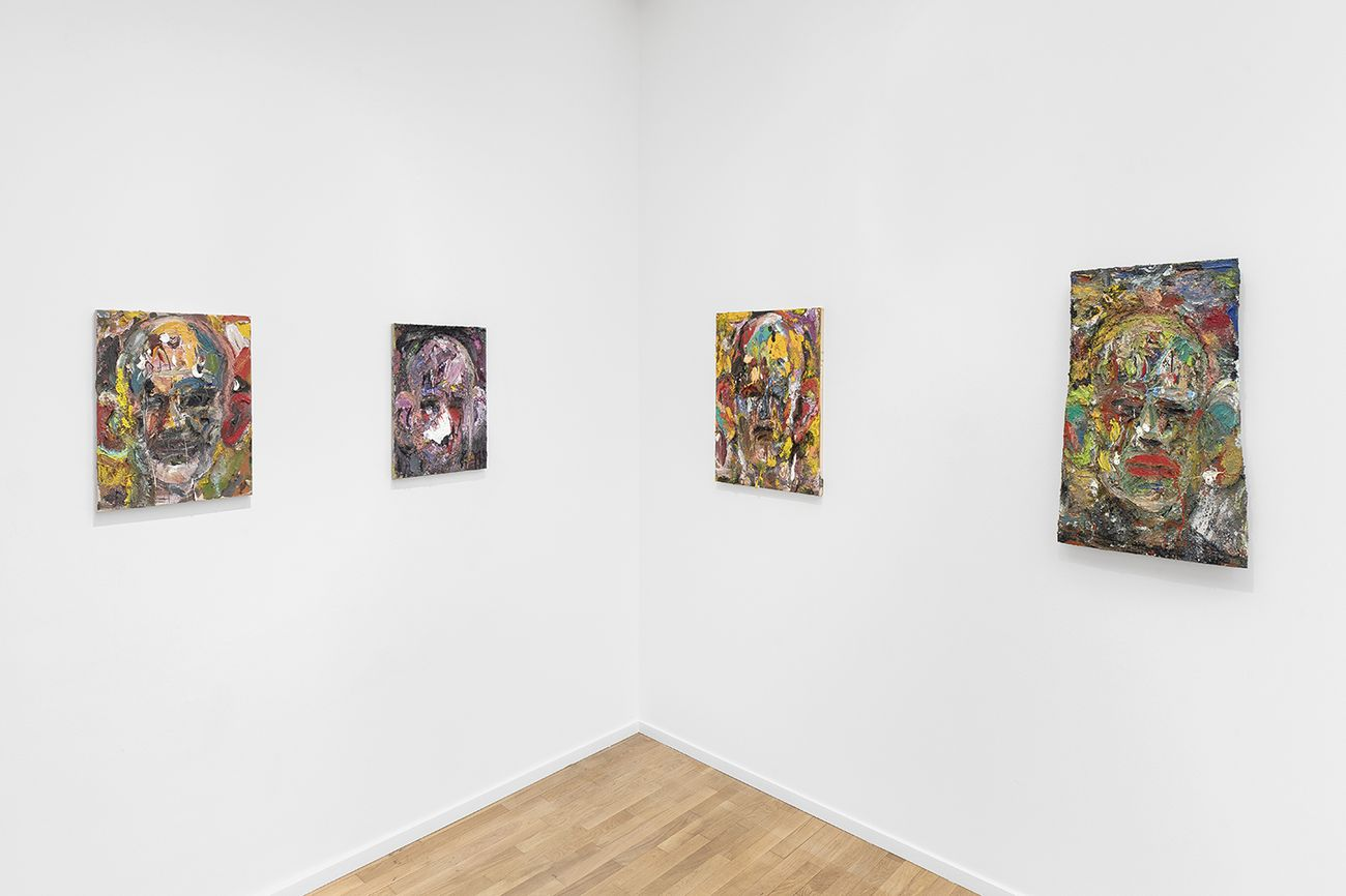 Jim Dine. A Day Longer, exhibition view at Galerie Templon, Parigi 2020, photo credit Nicolas Brasseur