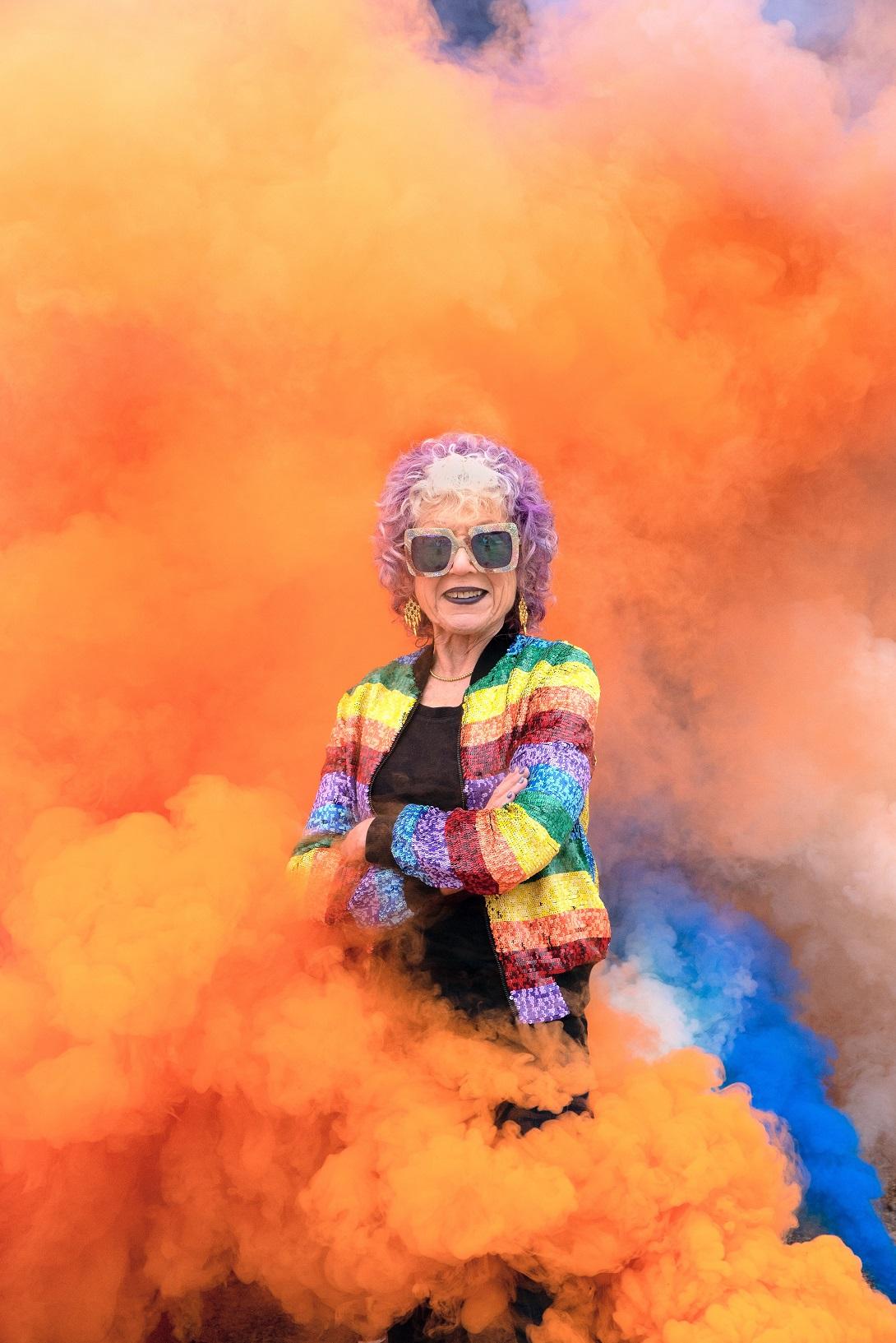 Judy Chicago, 2020 Photo © Donald Woodman/ARS, New York