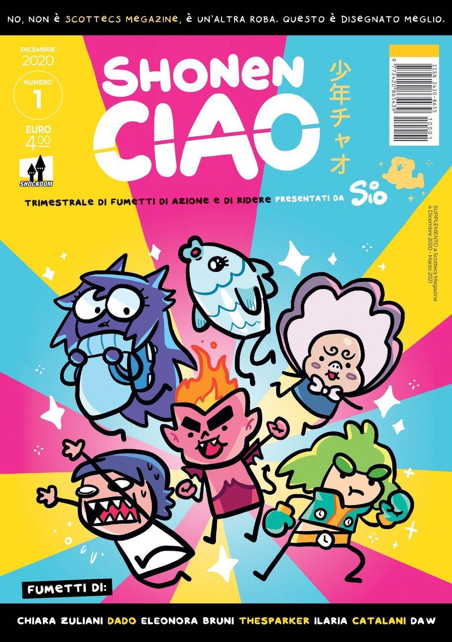 La copertina del primo numero di Shonen Ciao