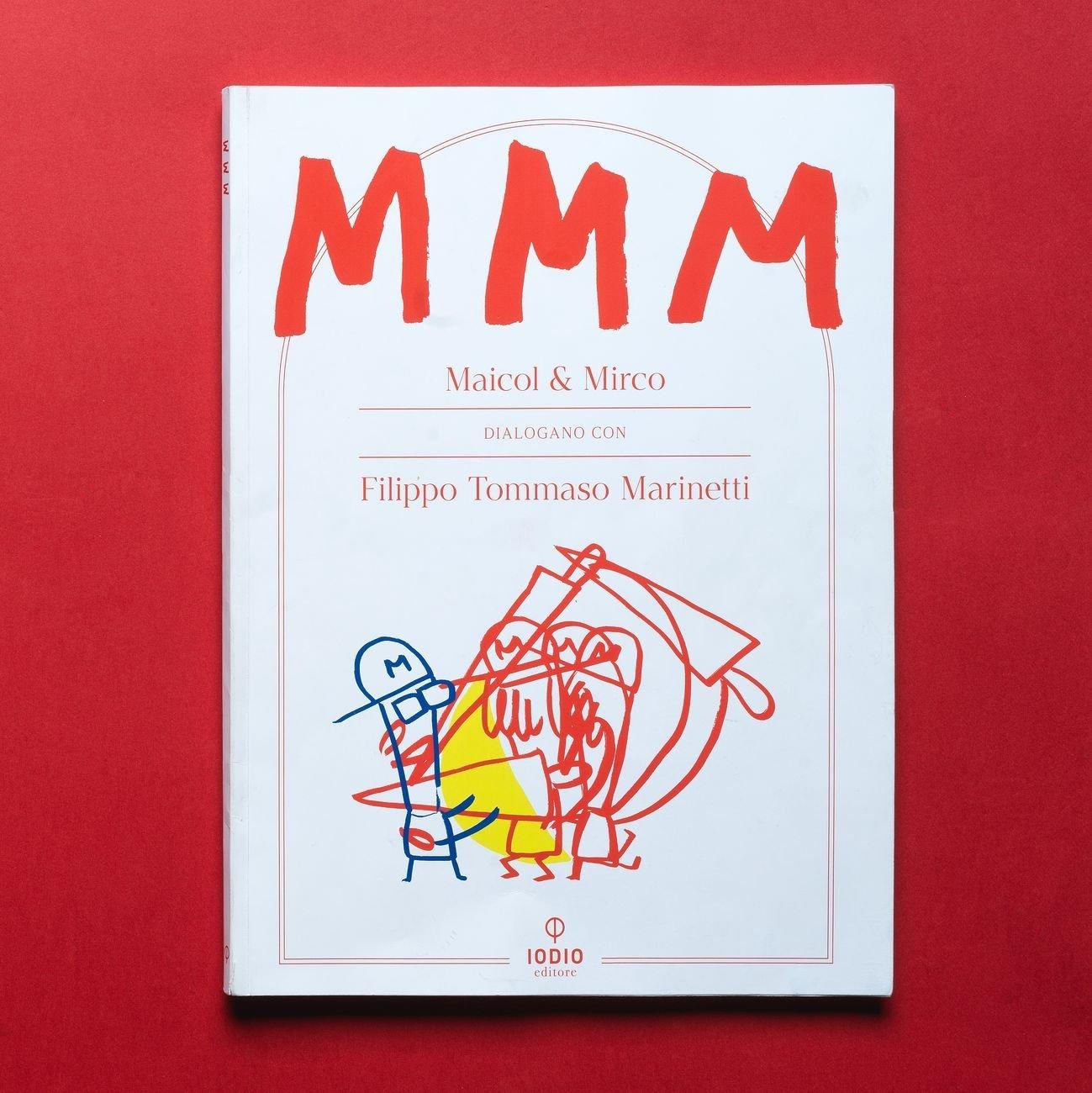 La copertina di MMM di Maicol & Mirco