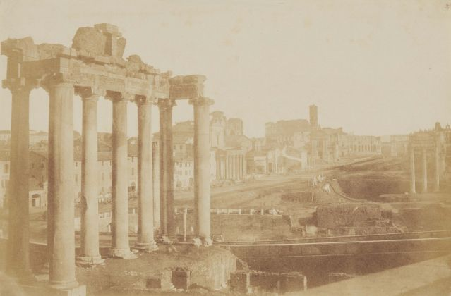 Lempertz 1161 800 Photography incl Rome in Early Photographies Giacomo Caneva Temple of Saturn Roman Forum