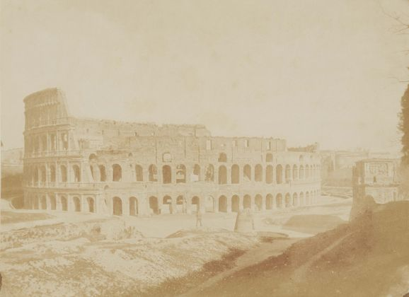 Lempertz 1161 820 Photography incl Rome in Early Photographies - Giacomo Caneva The Colosseum
