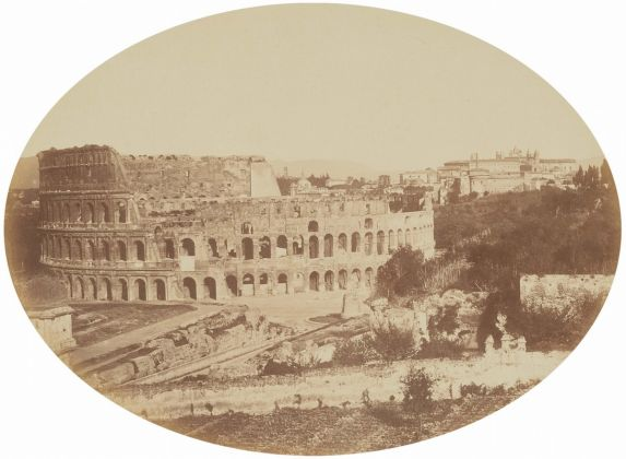 Lempertz 1161 822 Photography incl Rome in Early Photographies - Robert Mcpherson View from the Palatine towards the Colosseum