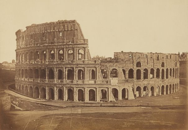 Lempertz 1161 824 Photography incl Rome in Early Photographies - Tommaso Cuccioni attributed to Colosseum