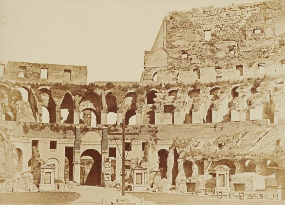Lempertz 1161 826 Photography incl Rome in Early Photographies - Anonymous Interior View of the Colosseum