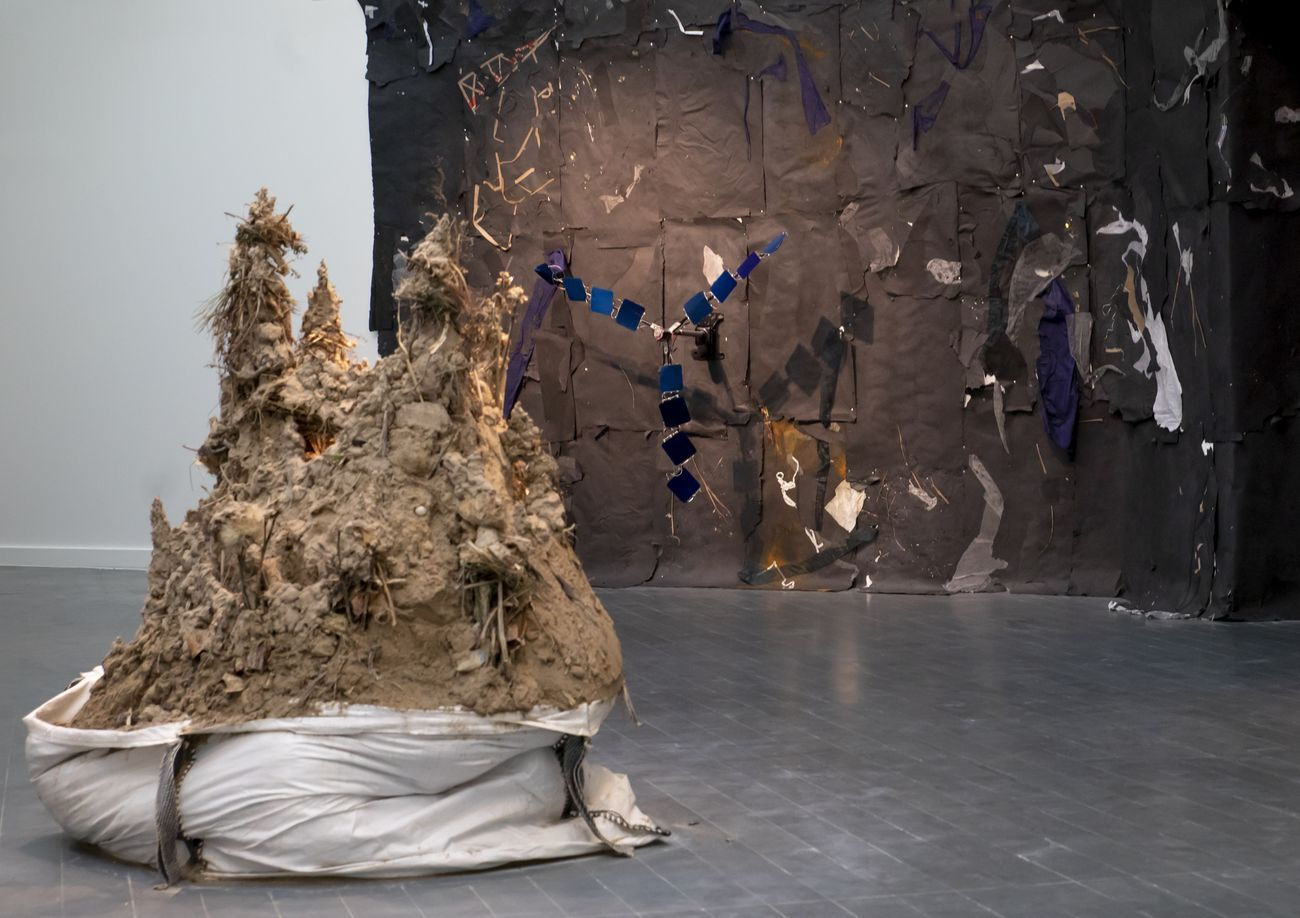 Lifting Belly. Exhibition view at CentroCentro, Madrid 2020. Photo © Benedetta Mascalchi Fundación Sandretto Re Rebaudengo Madrid