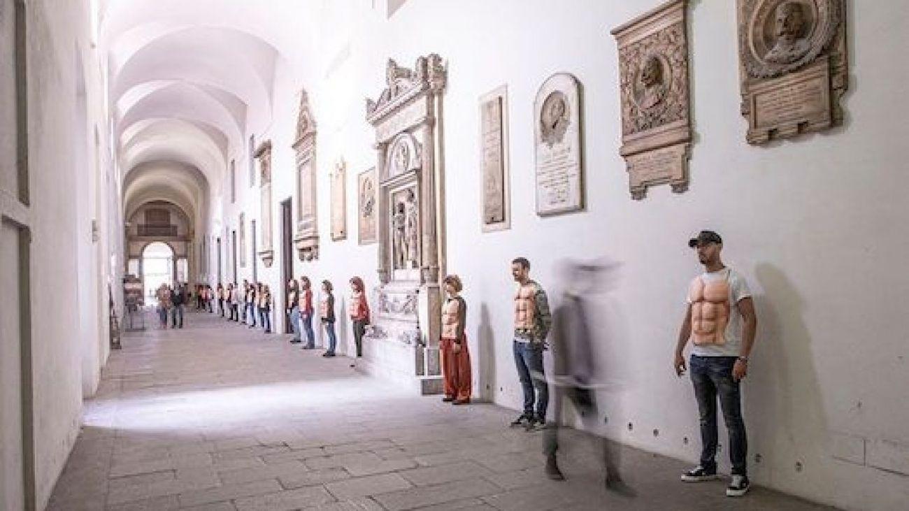 Marianne Heier, And their spirits live on. Performance all'Accademia di Belle Arti di Brera, Milano 2019
