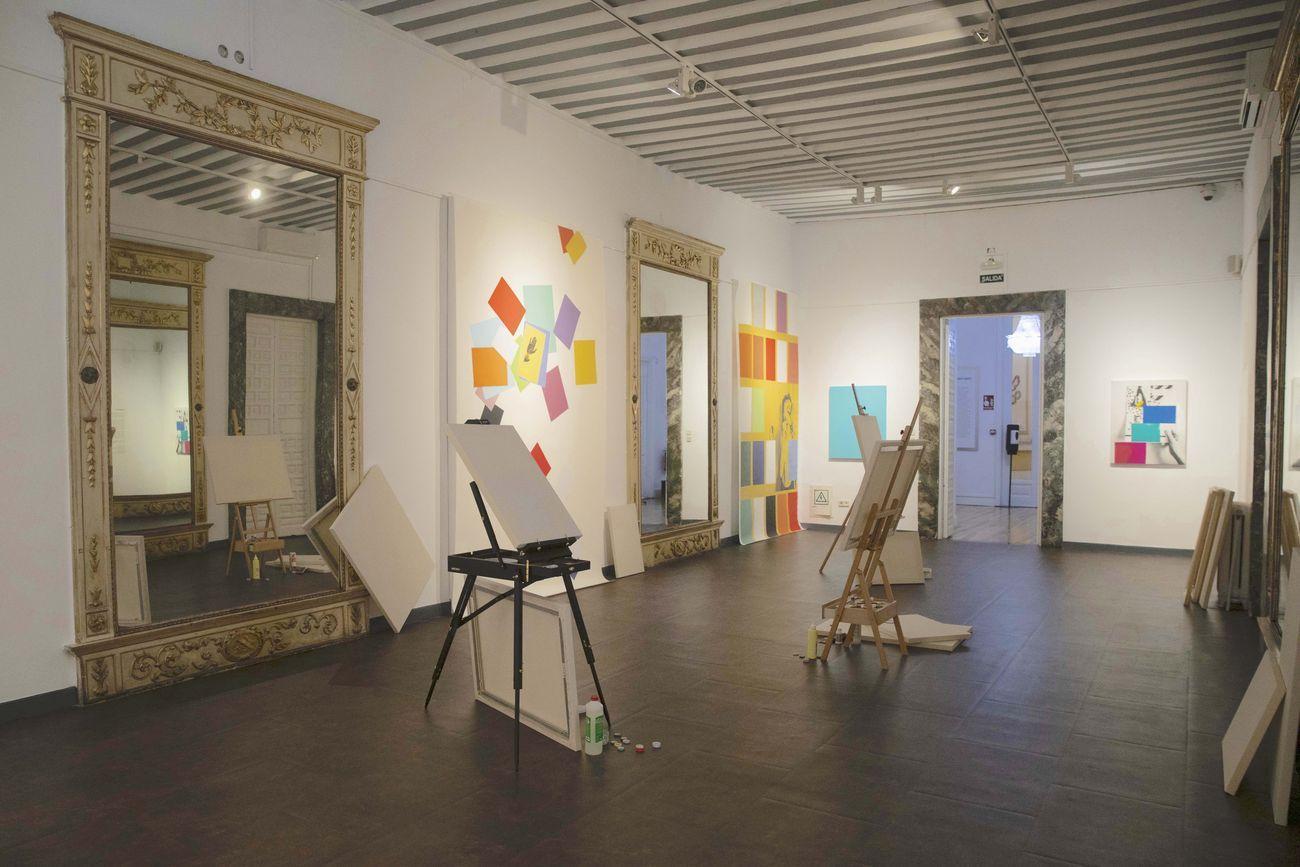 Marinella Senatore, Autoritratto, 2020. Installation view at Istituto Italiano di Cultura, Madrid 2020. Photo Ignacio López González. Courtesy Istituto Italiano di Cultura di Madrid