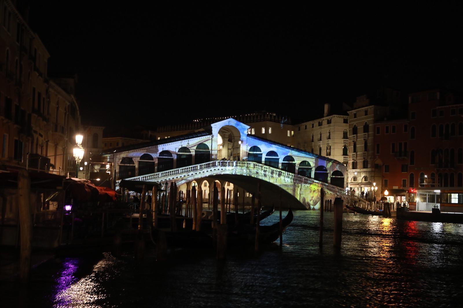 Natale di Luce 2020, Ponte di Rialto, Venezia