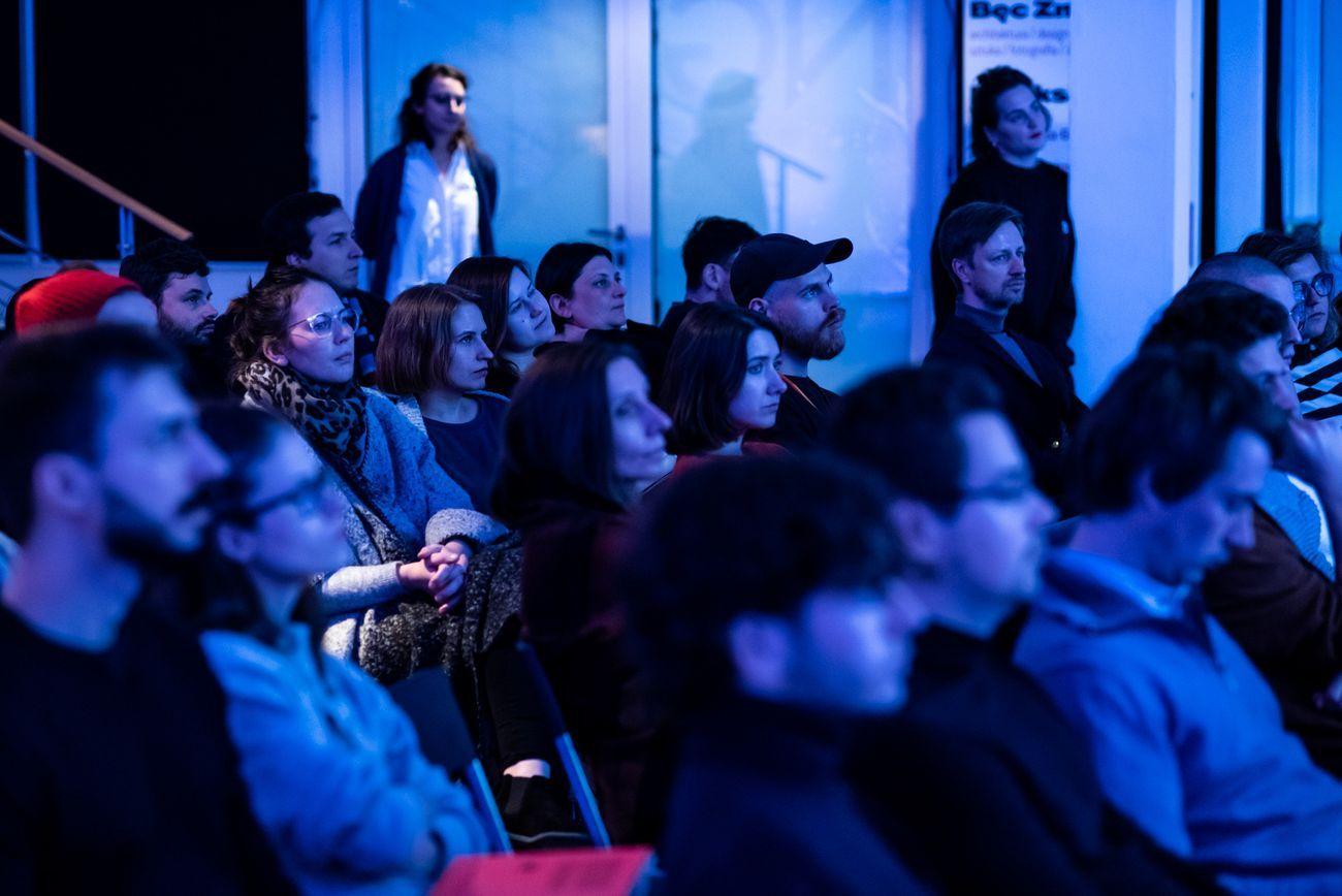New Generations Festival 2018, Varsavia. Speakers Corner lectures. Photo © Kuba Mozolewski