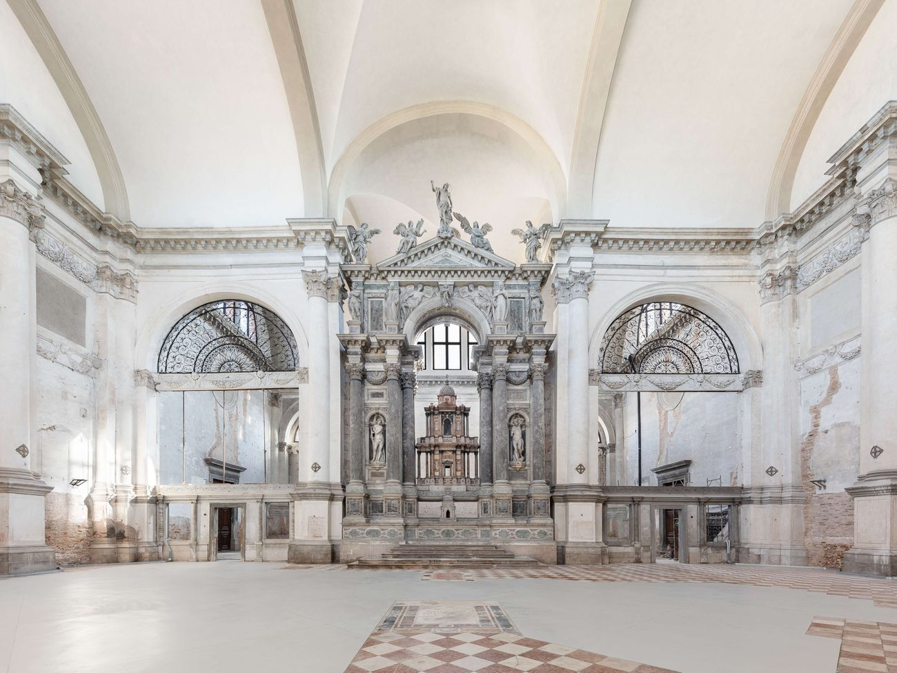 Ocean Space, Chiesa di San Lorenzo, Venezia. Photo Marco Cappelletti