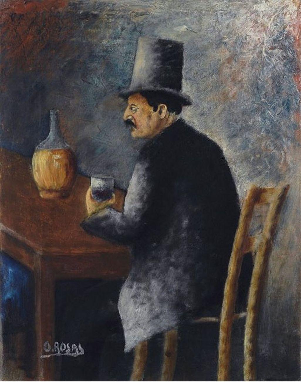 Ottone Rosai, Fiaccheraio, 1927