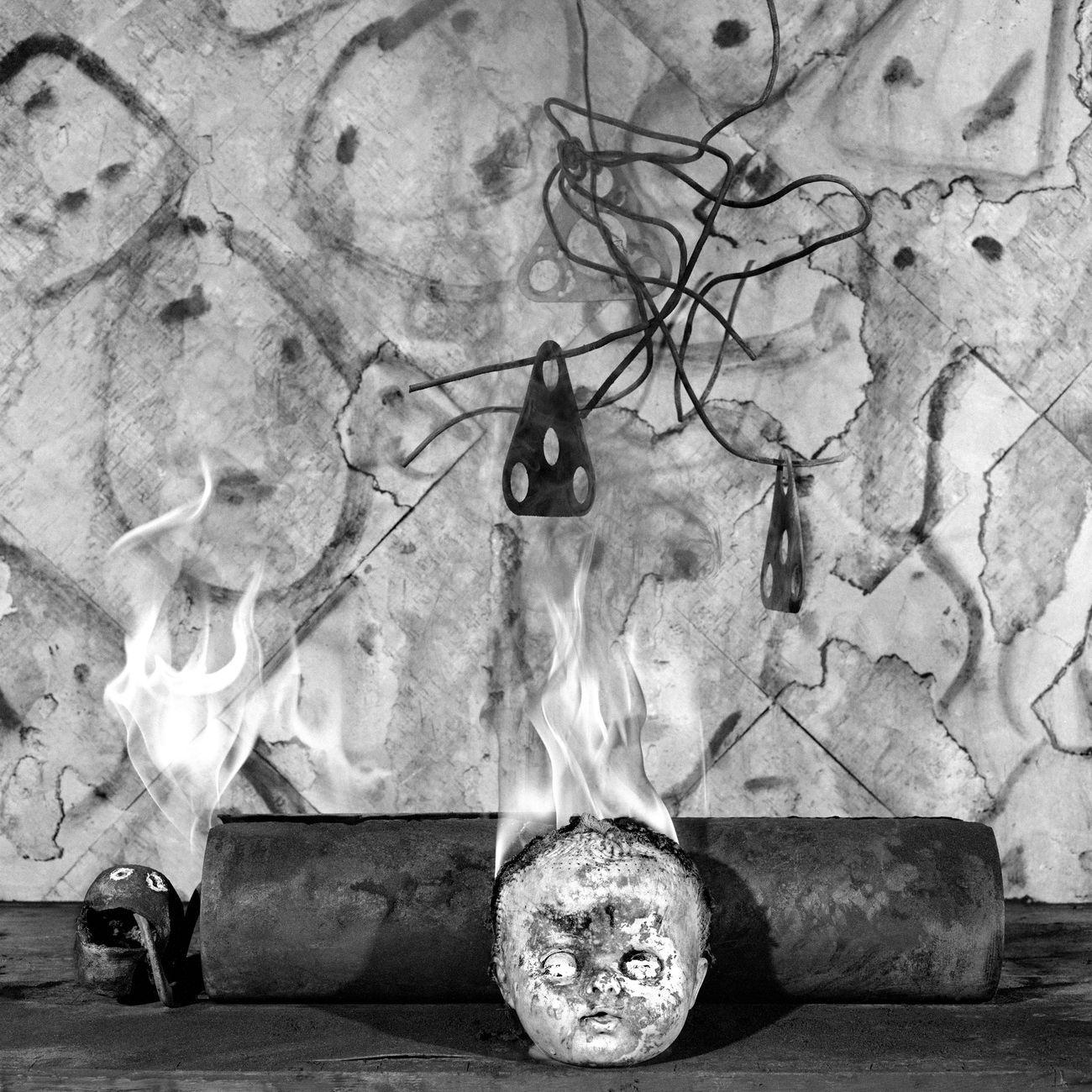 Roger Ballen, On Fire, 2008 © Roger Ballen