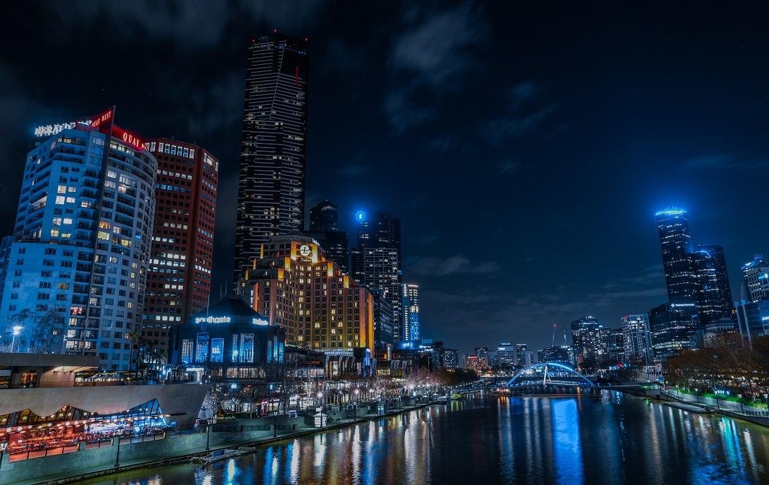 Saint Kilda Road, Melbourne, Australia