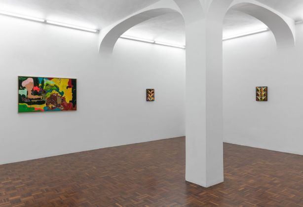 Sotto lune gemelle. Exhibition view at Norma Mangione Gallery, Torino 2020