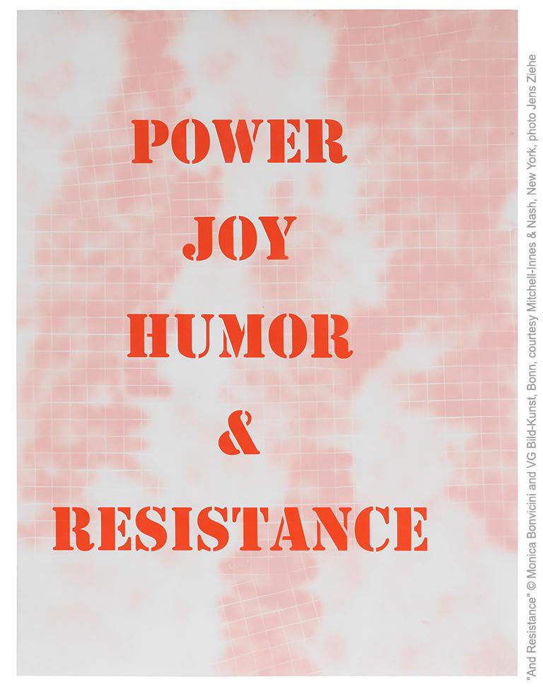 """""""Power Joy Humor Resistance"""": Monica Bonvicini all'Istituto Italiano di Cultura a Stoccolma"""