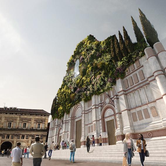 Bosco San Petronio, il progetto green di Mario Cucinella - Visual: Alessia Monacelli, Mario Cucinella Architects