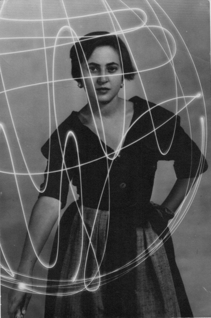 Benedetto Patera, Carla Accardi, 1950. Archivio Accardi Sanfilippo, Roma © Carla Accardi, by SIAE 2020