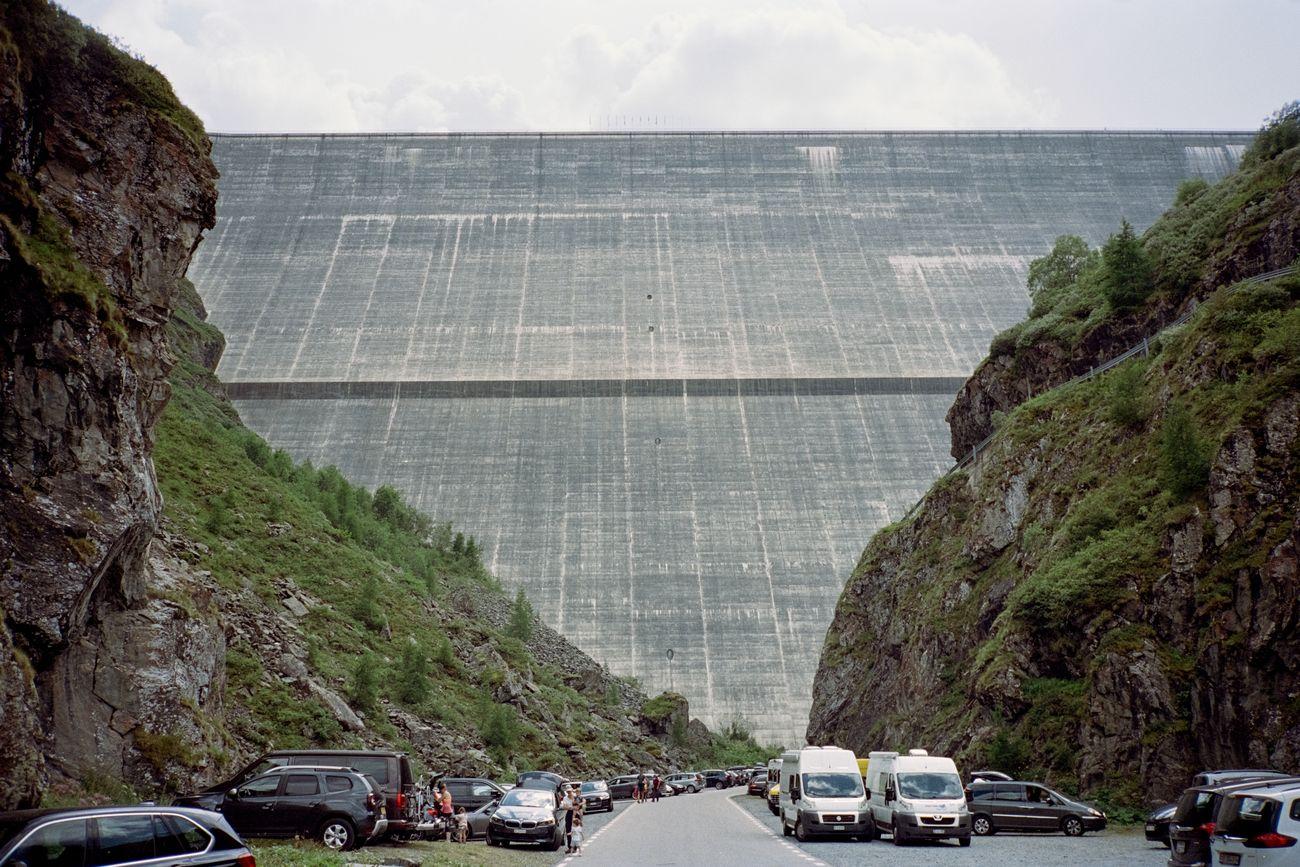 Ciro Miguel, Concrete Dam, 2020. Grande Dixence, Val d'Hérémence