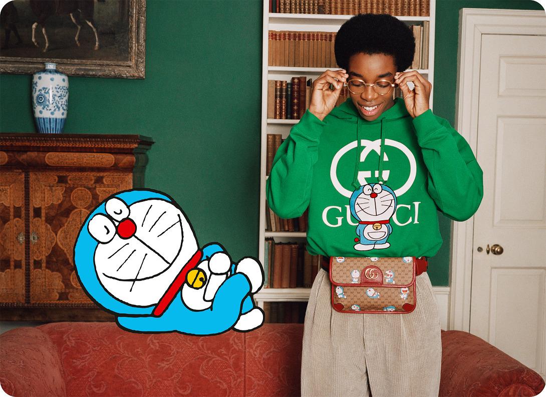 Doraemon X Gucci Direttore Creativo: Alessandro Michele Art Director: Cristopher Simmonds Fotografia: Angelo Pennetta