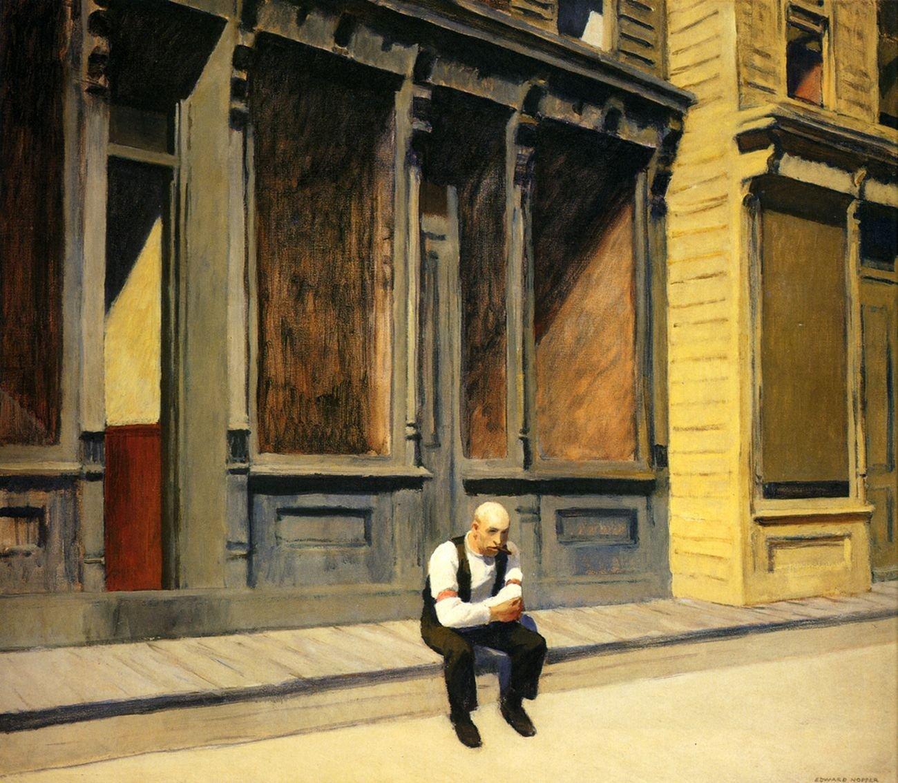 Edward Hopper, Sunday, 1926. The Phillips Collection, Washington DC