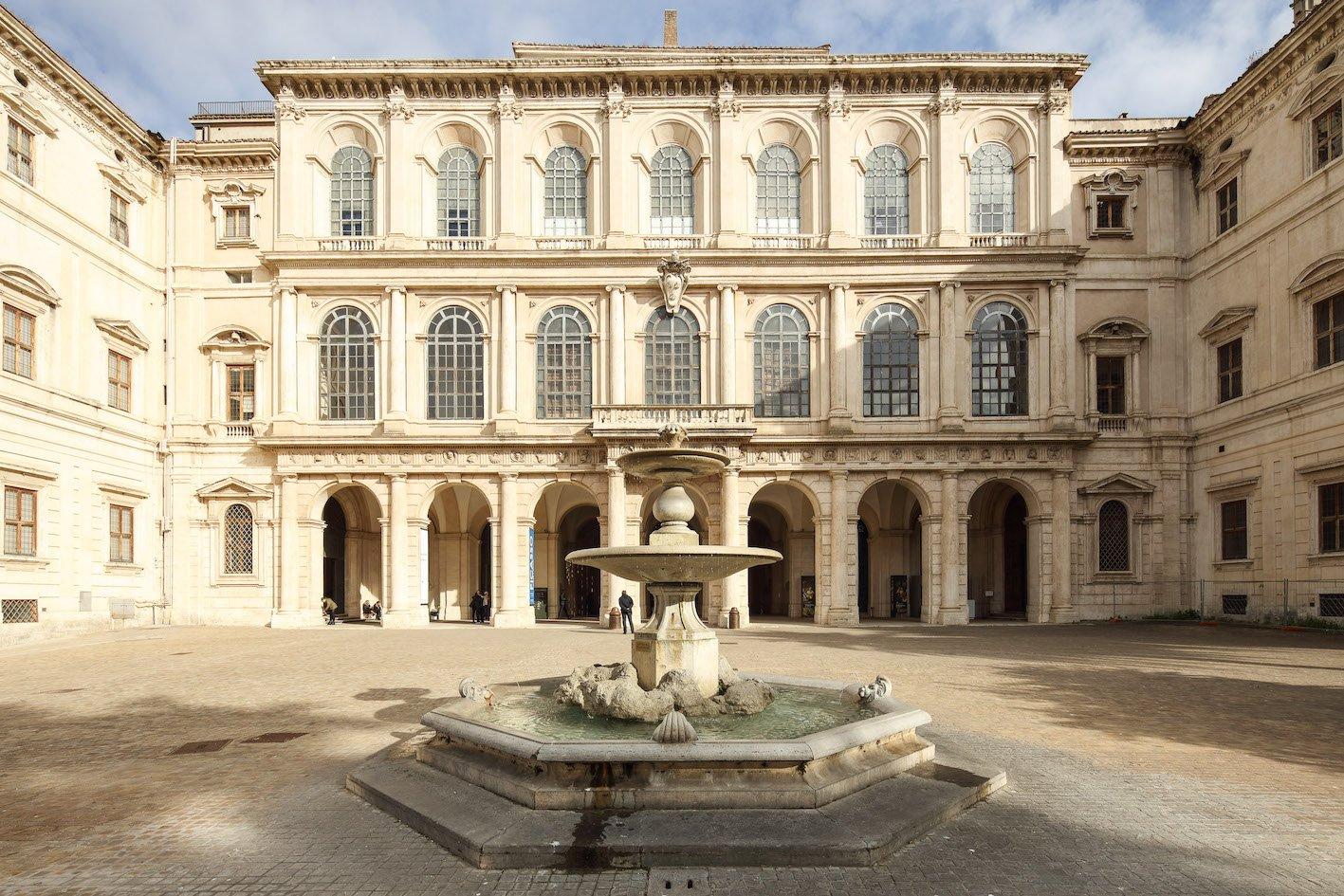 Facciata Palazzo Barberini - Courtesy Gallerie Nazionali di Arte Antica, Palazzo Barberini, Roma - Foto Alberto Novelli