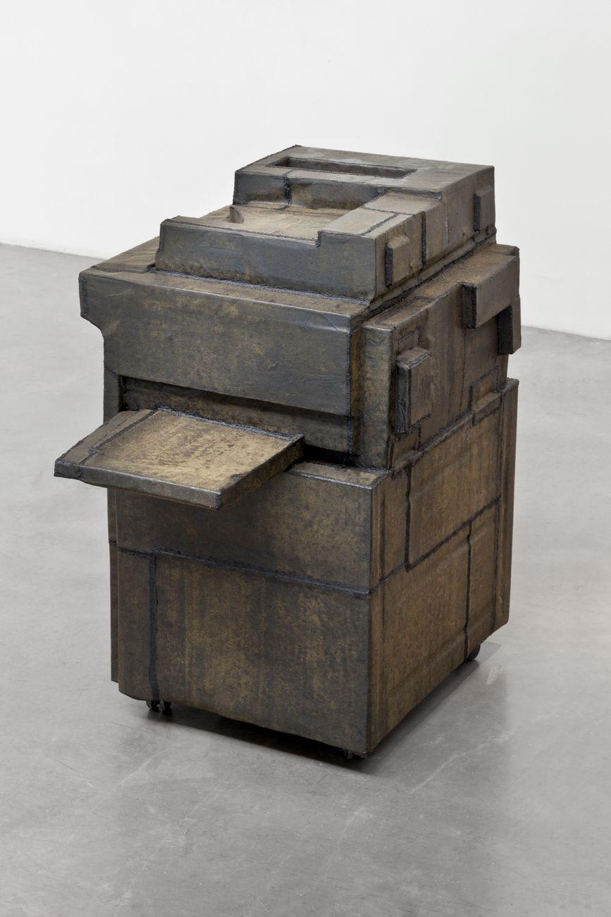 Gabriel Kuri, Blind photocopier, 2012. Courtesy l'artista & kurimanzutto, Città del Messico