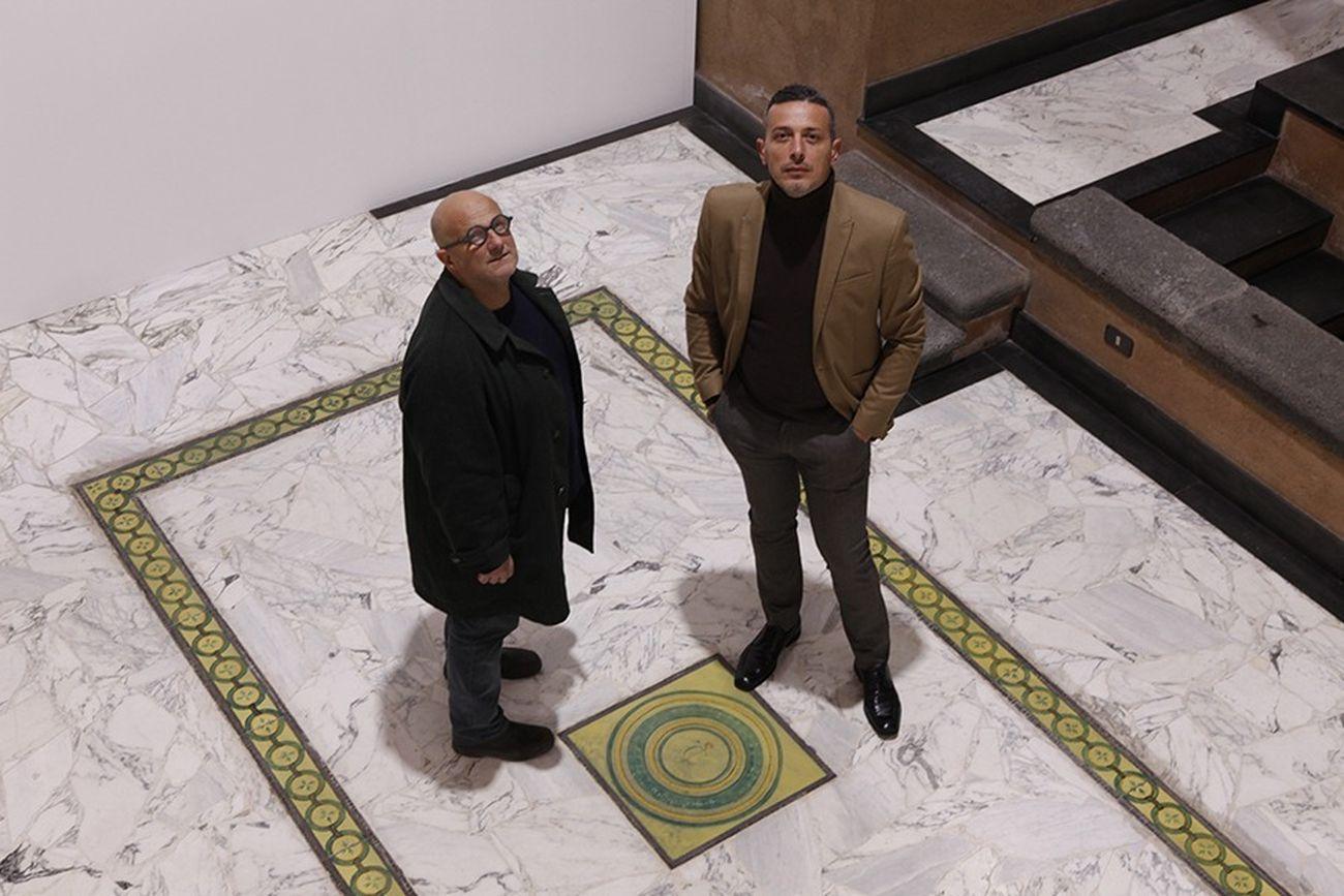 Gianluca Collica e Maurizio d'Agata