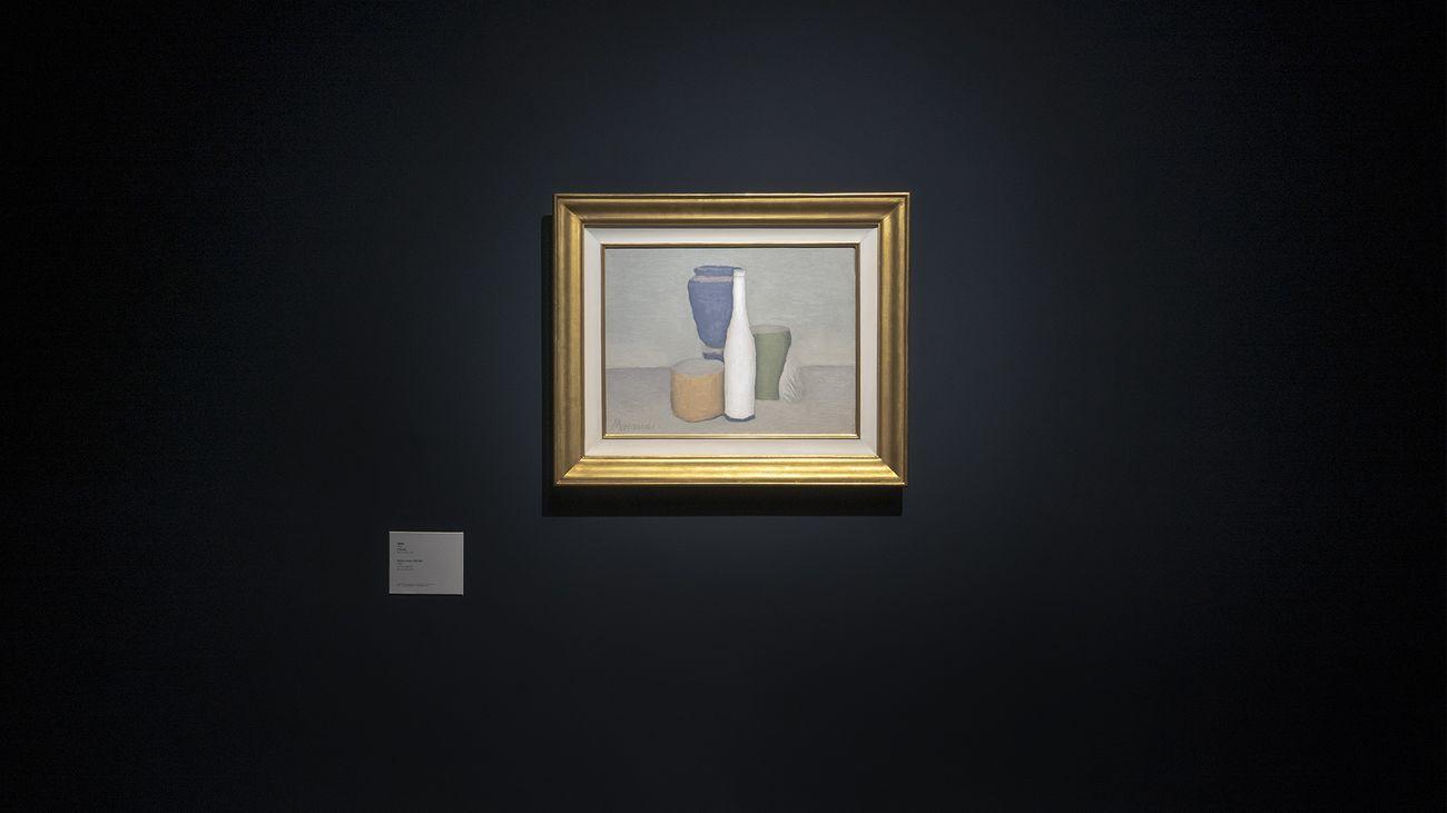 Giorgio Morandi. The Poetics of Stillness. Exhibition view at M WOODS, Beijing 2021 © M WOODS, Beijing © Famiglia Morandi SIAE