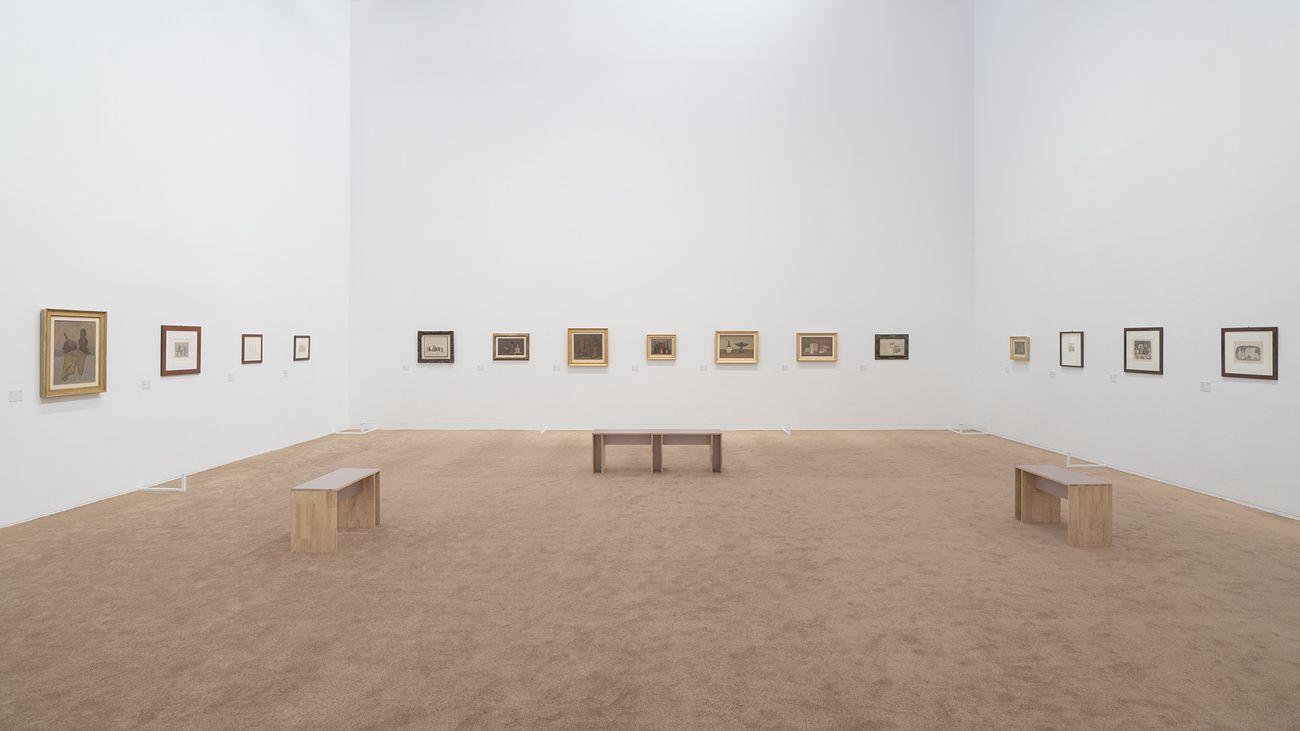 Giorgio Morandi. The Poetics of Stillness. Exhibition view at M WOODS, Beijing 2021 © M WOODS, Beijing
