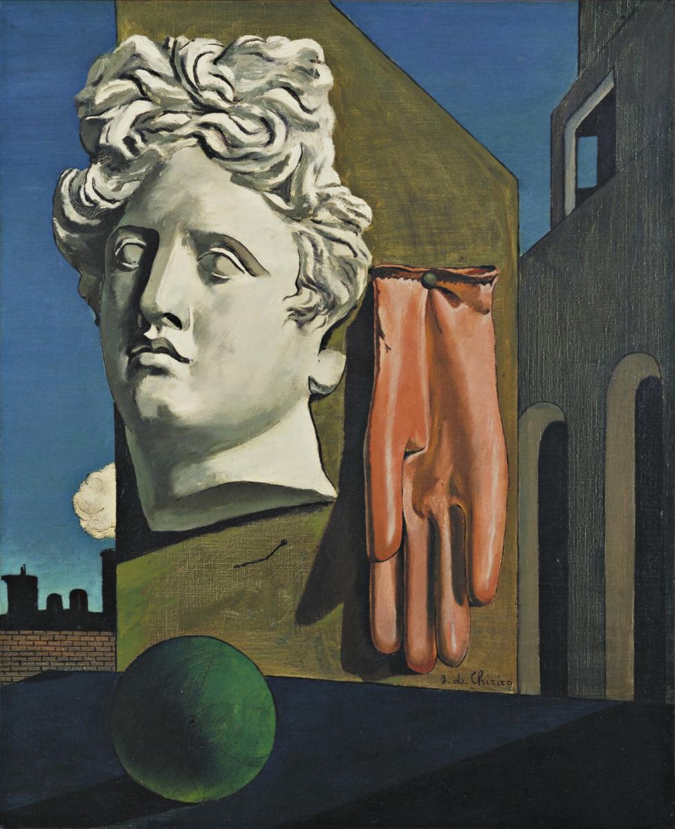 Giorgio de Chirico, Canto d'amore, 1914. MoMA, New York