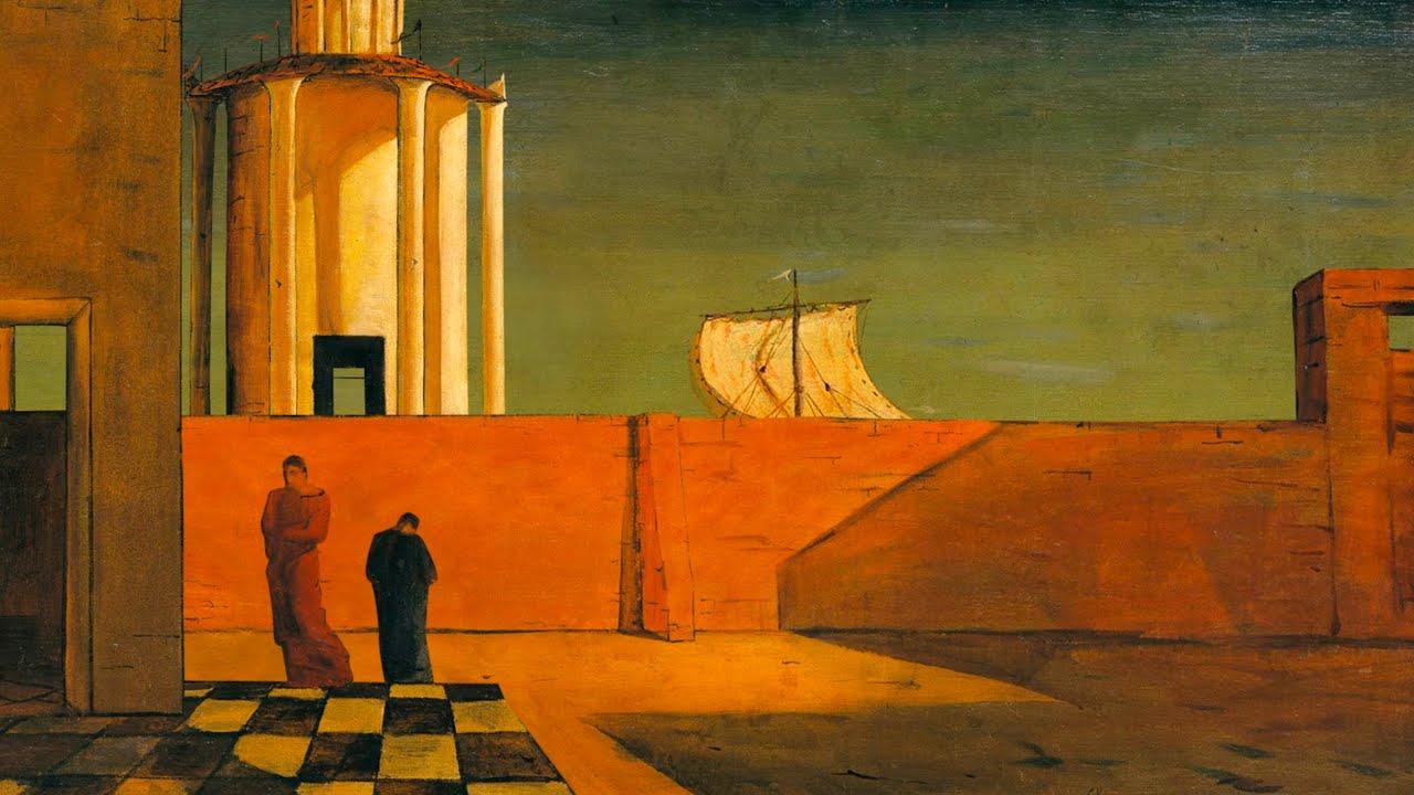 Giorgio de Chirico, L'enigma dell'arrivo e del pomeriggio, 1911