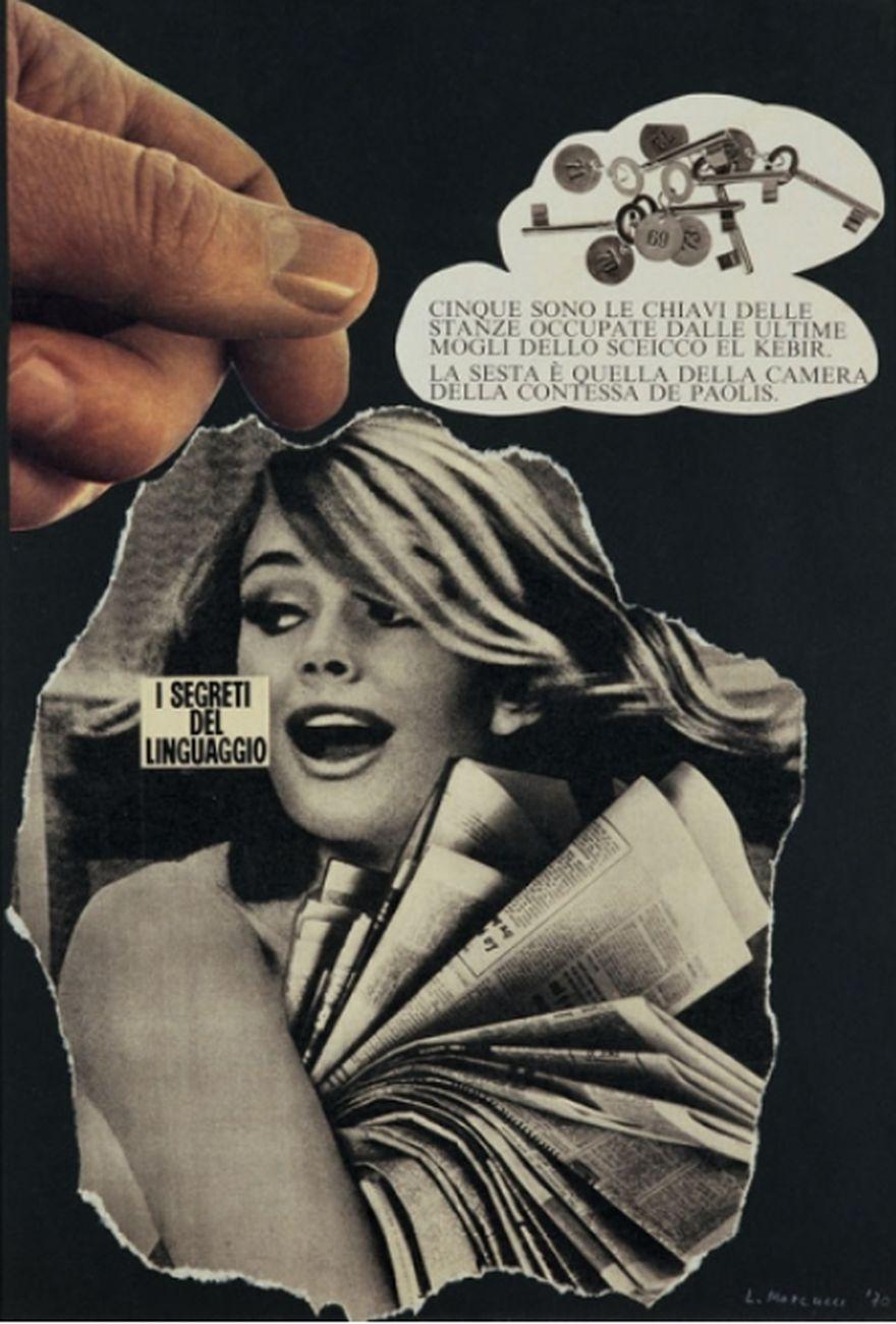 Lucia Marcucci, I segreti del linguaggio, 1970. Courtesy l'artista